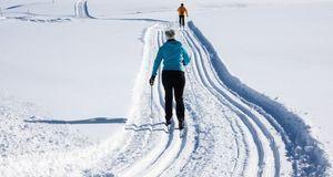Übung macht den Meister – das gilt auch für Skilanglauf. Ausrüstung passt? Da...