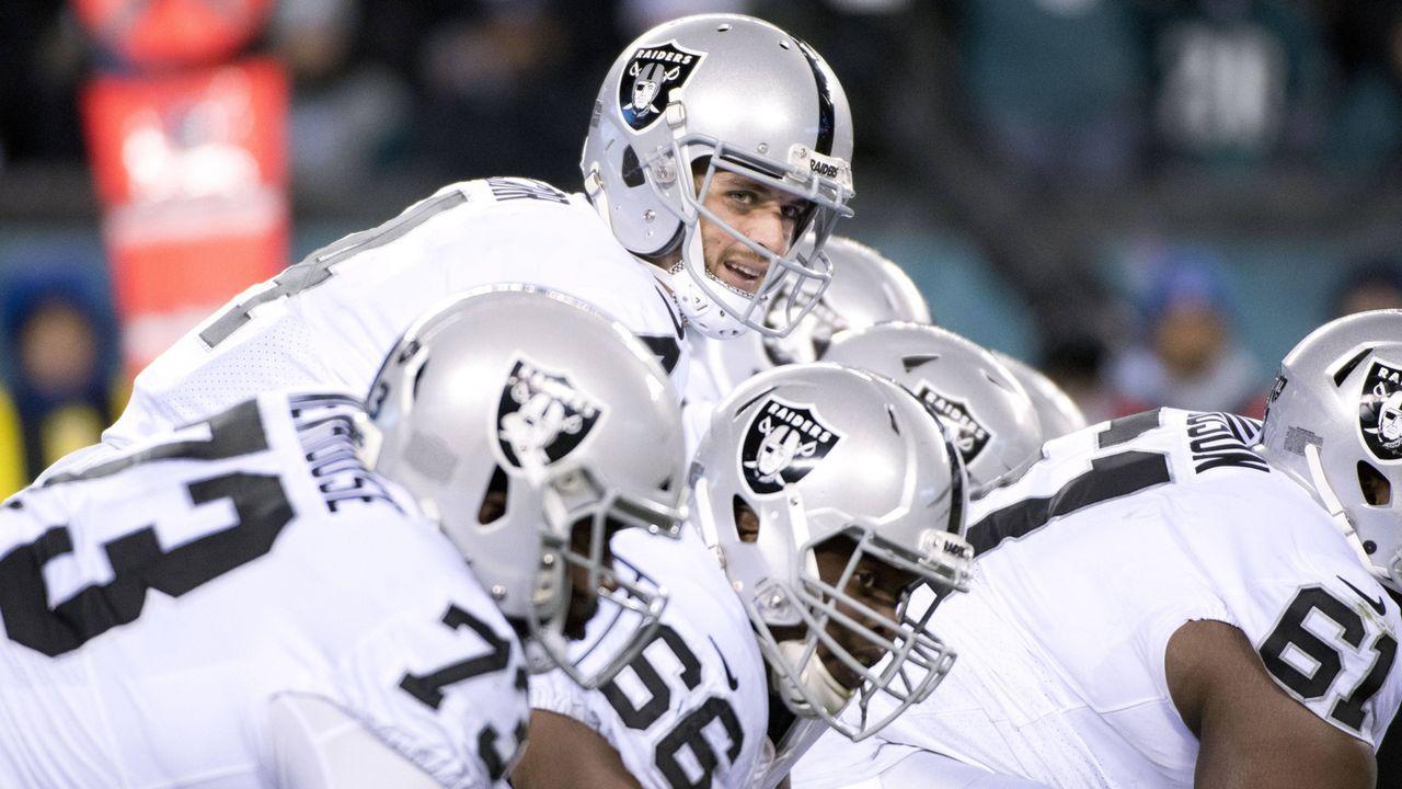 Oakland Raiders (3 Spieler) - Bildquelle: imago/Icon SMI