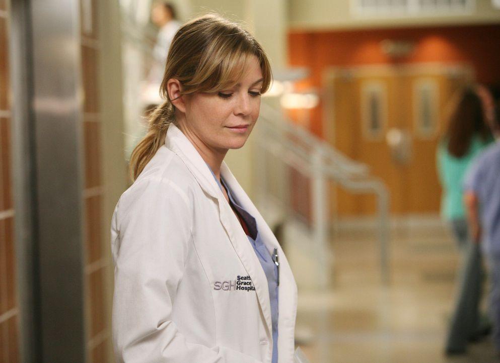 Ist mit Derek sehr glücklich: Meredith (Ellen Pompeo) ... - Bildquelle: Touchstone Television
