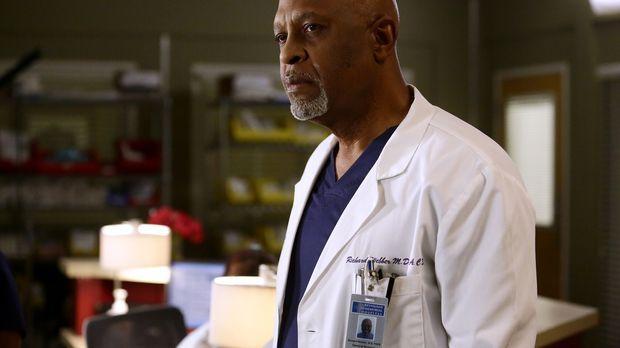Während Meredith versucht, Alex zu finden, machen Webber (James Pickens Jr.)...
