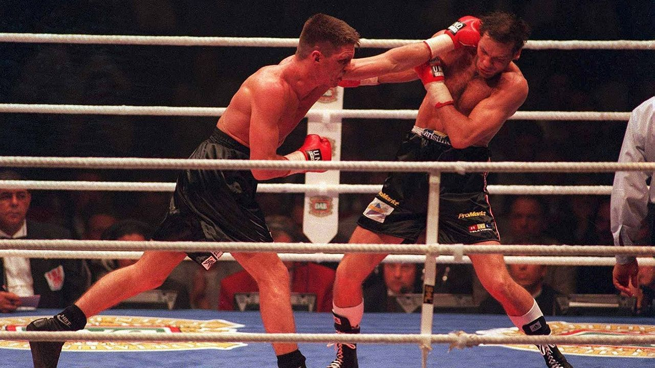 Rocchigiani vs. Henry Maske, 27. März 1995, Dortmund - Bildquelle: Getty Images