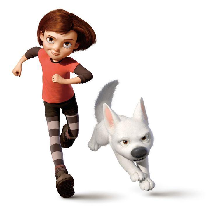 Ein unschlagbares Team: Bolt (l.) und Penny (r.) sind die Stars einer bekannten Serie. Bald merken die beiden jedoch, dass das wahre leben die aufre... - Bildquelle: Disney Enterprises, Inc.  All rights reserved