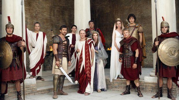 Rom im Jahr 44 v. Chr.: (v.l.n.r.) Cassius (Michael Maloney), Tyrannus (Jonat...