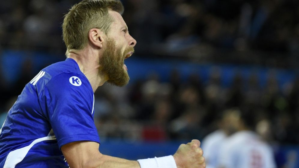 Sigurdsson erzielte fünf Treffer im EM-Auftaktspiel - Bildquelle: AFPSIDJEAN-CHRISTOPHE VERHAEGEN
