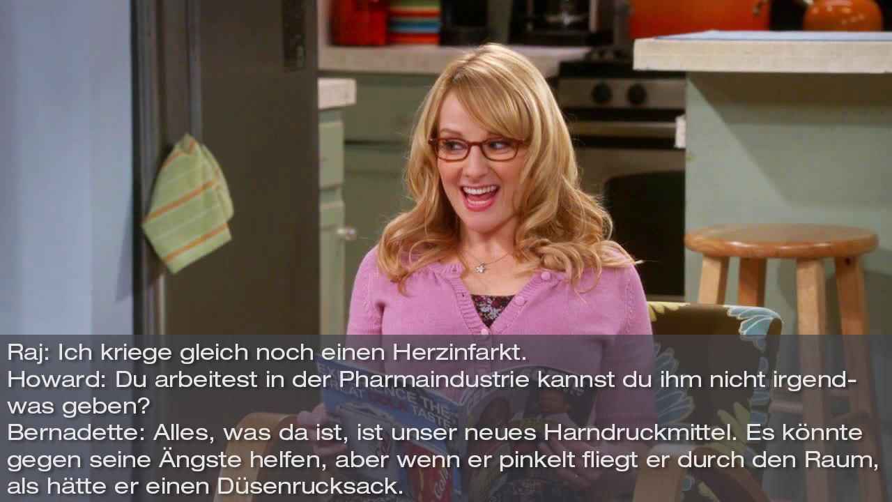 Zitate The Big Bang Theory Staffel 8 Folge 12 Bild6 - Bildquelle: Warner Bros. Television