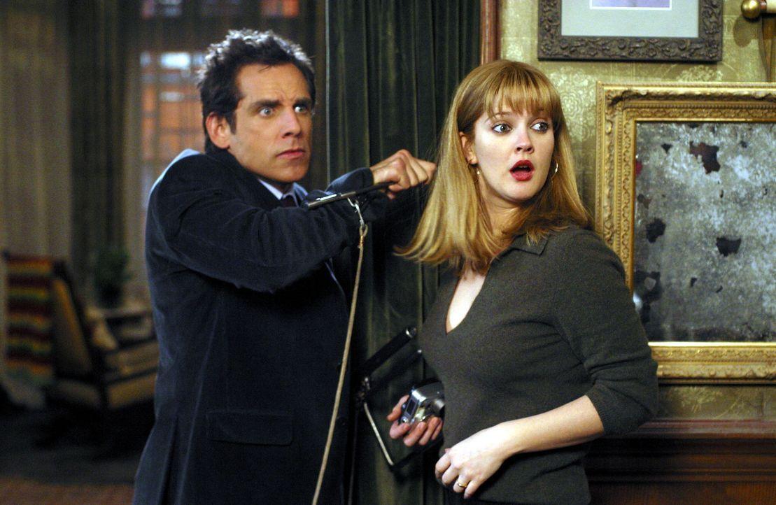 Eines Tages finden Alex (Ben Stiller, l.) und Nancy (Drew Barrymore, r.) mitten in Brooklyn ihr ultimatives Traumhaus. Schön gelegen und liebevoll... - Bildquelle: Miramax Films.  All Rights Reserved.