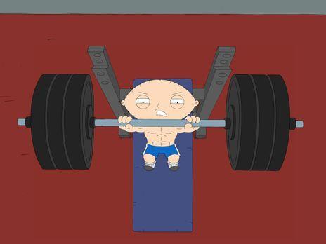 Family Guy - Lässt sie Muskeln spielen: Stewie Griffin - Bildquelle: 2006-200...