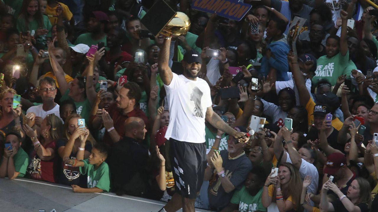 Erfolge von LeBron James: Drei NBA-Titel - Bildquelle: imago/ZUMA Press
