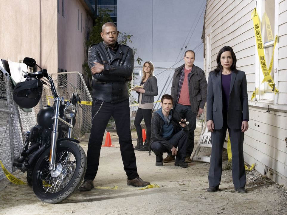 (1. Staffel) - Gemeinsam bringen sie jeden Täter zur Strecke: Sam Cooper (Forest Whitaker, l.), Gina LaSalle (Beau Garrett, 2.v.l.), Mick Rawson (Ma... - Bildquelle: ABC Studios
