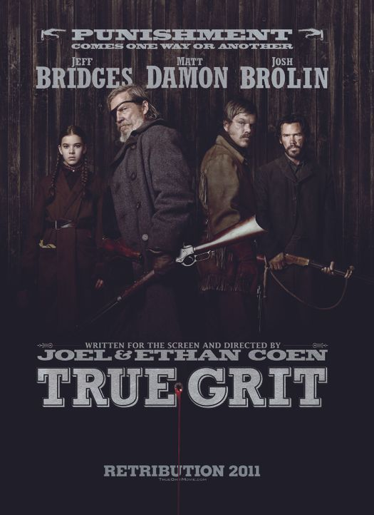 True Grit - Plakatmotiv - Bildquelle: (2010) PARAMOUNT PICTURES. All rights reserved.