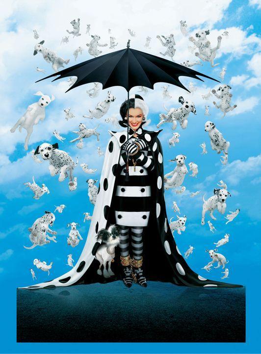 Ist wieder zurück: Cruella de Vil (Glenn Close) ... - Bildquelle: Walt Disney Pictures