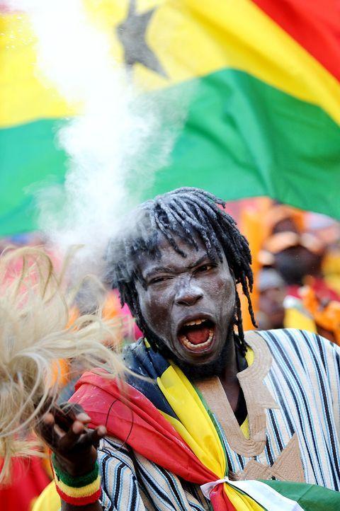 Fussball-Fans-Ghana-130120-2-AFP - Bildquelle: AFP