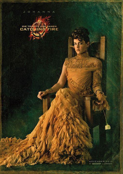 Jena Malone als Johanna Mason in Catching Fire - Bildquelle: Studiocanal