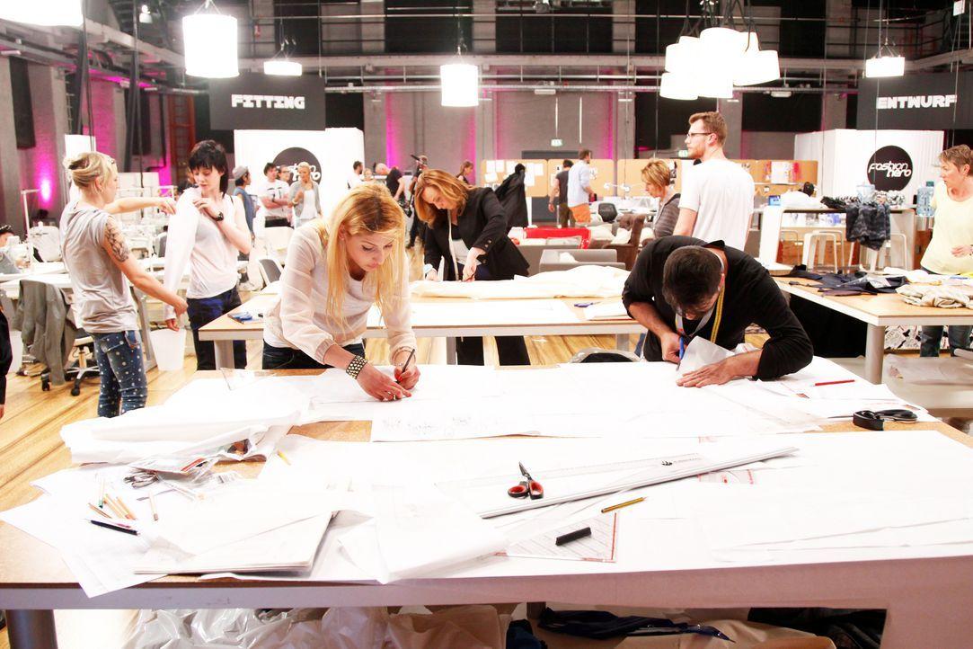 Fashion-Hero-Epi01-Atelier-41-ProSieben-Richard-Huebner - Bildquelle: ProSieben / Richard Huebner