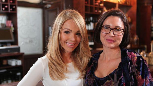 Katie Piper (l.) trifft die sechs-fache Mama Gemma (r.), die durch drei Brust...