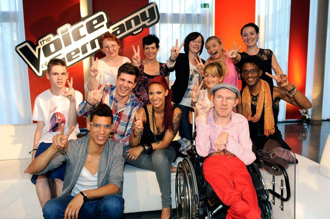 jenna-the-voice-of-germany-staffel2-epi01-37-backstagejpg 2128 x 1416 - Bildquelle: ProSieben/SAT.1/Christoph Assmann