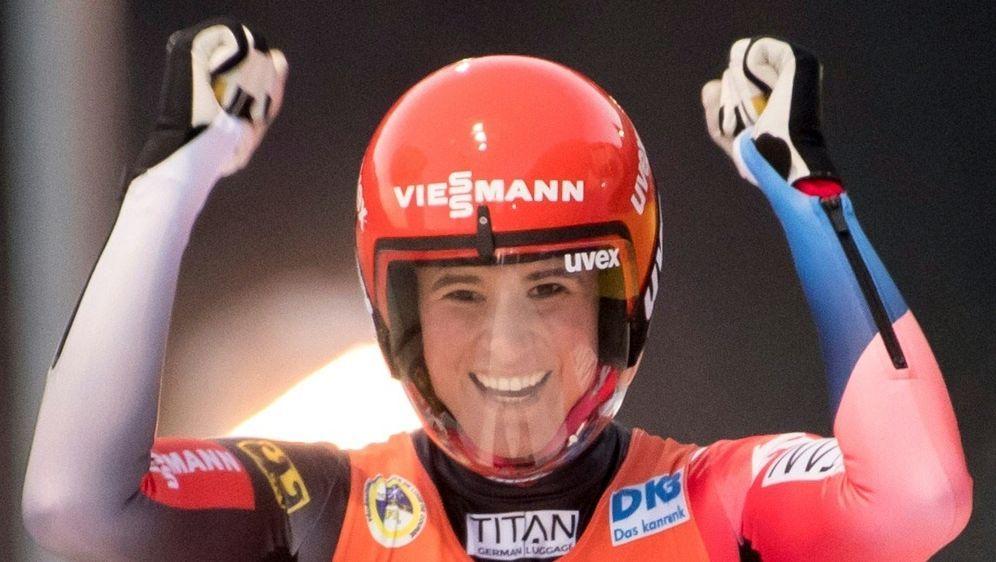 Whistler: Geisenberger gewinnt mit zwei Bahnrekorden - Bildquelle: PIXATHLONPIXATHLONSID