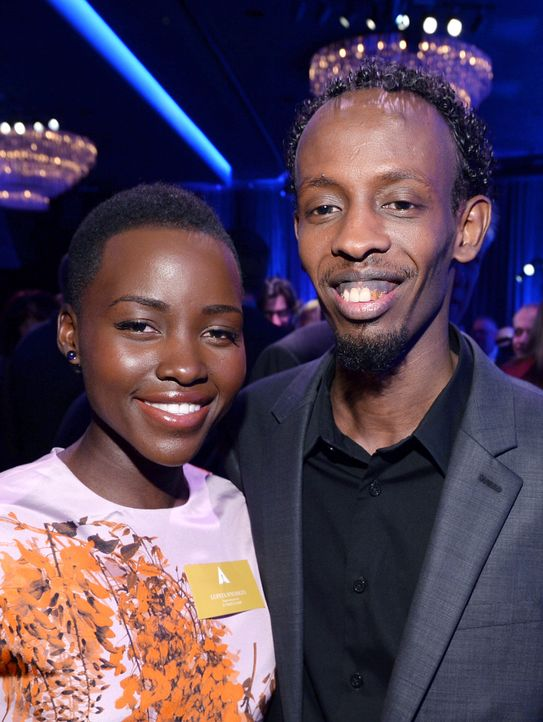 Oscars-Luncheon-Lupita-Nyongo-Barkhad-Abdi-14-02-10-getty-AFP - Bildquelle: getty-AFP