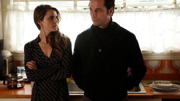 Die neue Situation zwischen Elizabeth (Keri Russell, l.) und Phillip (Matthew...