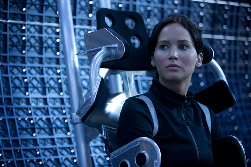 Jennifer Lawrence: Katniss Everdeen - Bildquelle: STUDIOCANAL