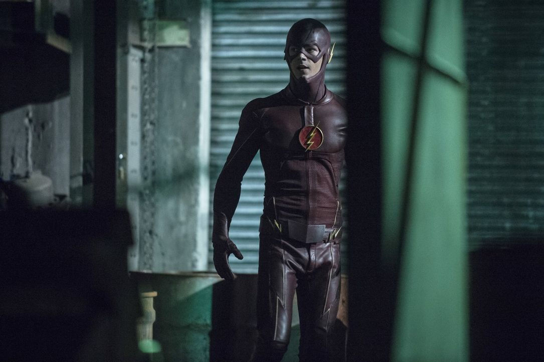 Nimmt den Kampf gegen das Böse auf: Barry alias The Flash (Grant Gustin) ... - Bildquelle: Warner Brothers.