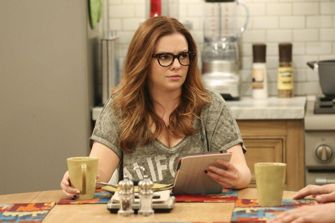 Jenny (Amber Tamblyn) spart nicht mit sarkastischen Kommentaren, als Walden ihr von seinem völlig veränderten Sexleben berichtet ... - Bildquelle: Warner Brothers Entertainment Inc.