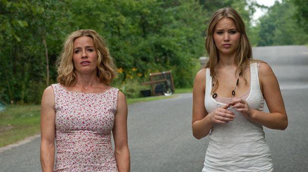 Nicht alles ist so harmonisch zwischen Elissa (Jennifer Lawrence, r.) und ihr...