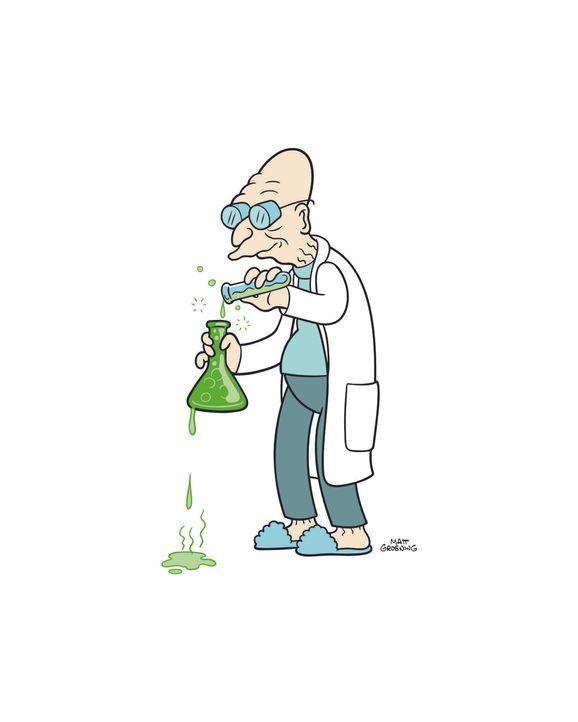 (7. Staffel) - Prof. Hubert Farnsworth ist mit mindestens 120 Jahren der älteste Wissenschaftler im 31. Jahrhundert. - Bildquelle: 2003 Twentieth Century Fox Film Corporation. All rights reserved.