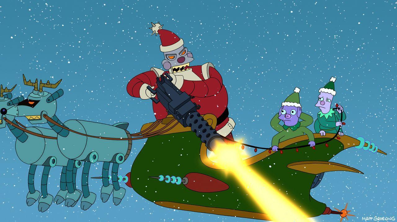 Außerirdische Weihnachten ... - Bildquelle: 2003 Twentieth Century Fox Film Corporation. All rights reserved.