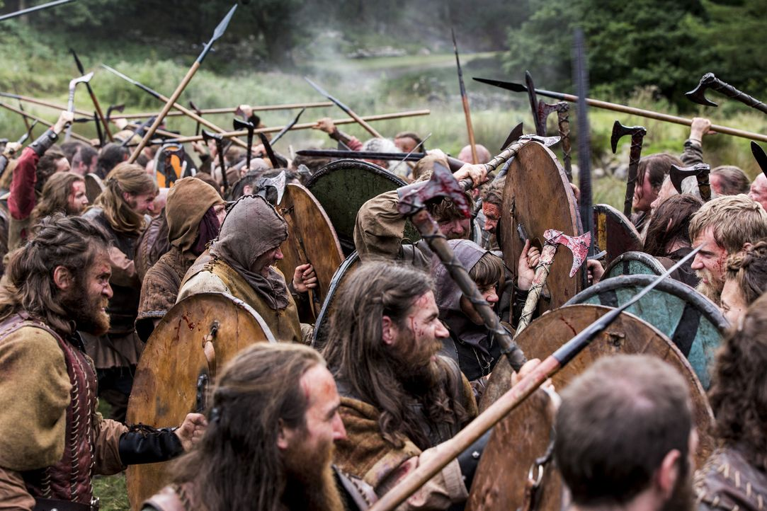 Der Kampf um Kattegat beginnt ... - Bildquelle: 2014 TM TELEVISION PRODUCTIONS LIMITED/T5 VIKINGS PRODUCTIONS INC. ALL RIGHTS RESERVED.
