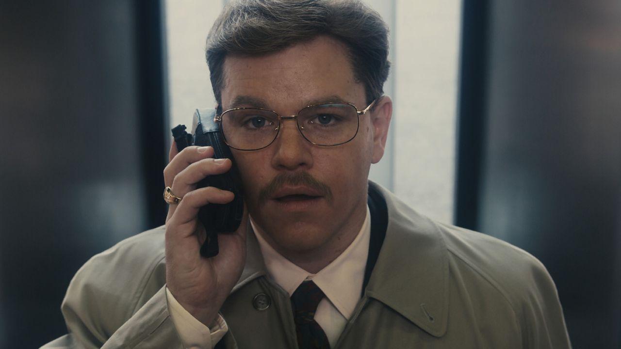 In dem gigantischen Agrarkonzern Archer Daniels Midland (ADM) hatte Biochemiker Mark Whitacre (Matt Damon) eine glänzende Karriere vor sich. Doch a... - Bildquelle: Warner Bros. Pictures