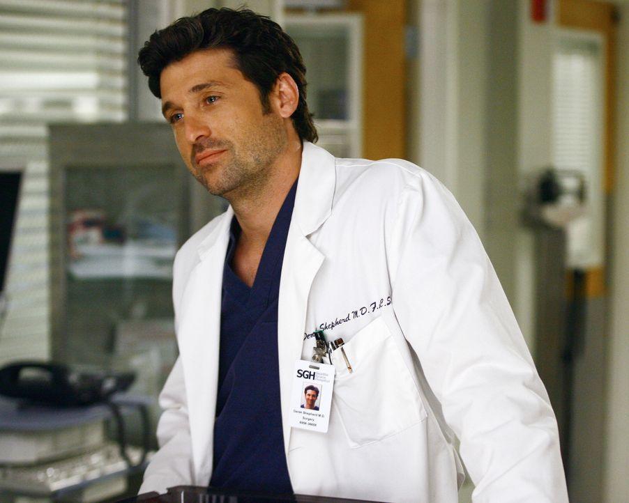 Seine Beziehung zu Meredith befindet sich in einer emotionalen Sackgasse: Derek (Patrick Dempsey) ... - Bildquelle: Touchstone Television