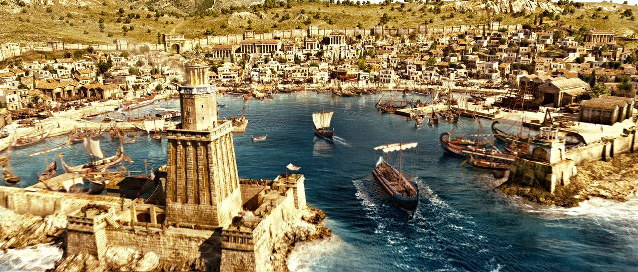 Alle Wege führen nach Griechenland: Dort will Brutus die Olympischen Spiele gewinnen und Caesar stürzen - mit allen Mitteln. Glücklicherweise gibt e... - Bildquelle: Constantin Film