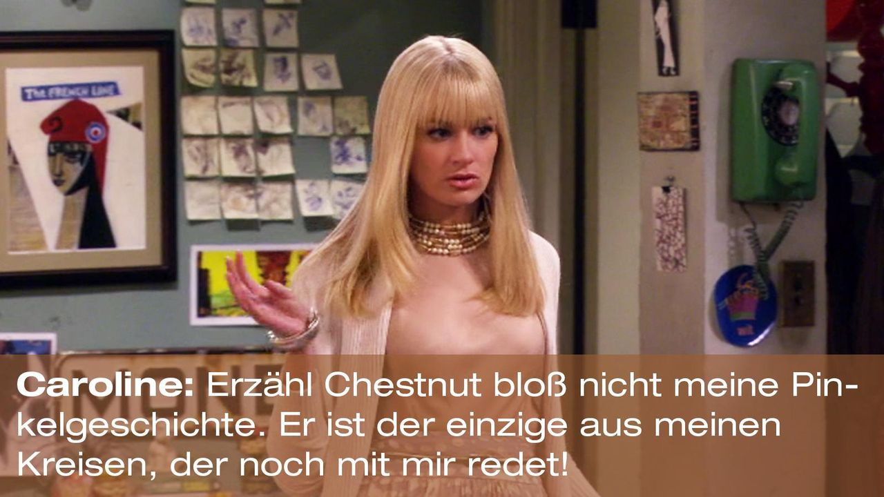 2-broke-girls-zitat-staffel2-episode3-gelbe-gefahr-caroline-pinkelgeschichte-warnerpng 1600 x 900 - Bildquelle: Warner Brothers Entertainment Inc.