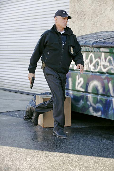 Versucht alles, um den Terroristen Parsa zu finden: Gibbs (Mark Harmon) ... - Bildquelle: CBS Television