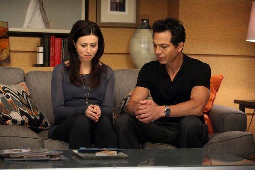 Private Practice - Amelia (Caterina Scorsone, l.) kommt mit ihrer Situation n...