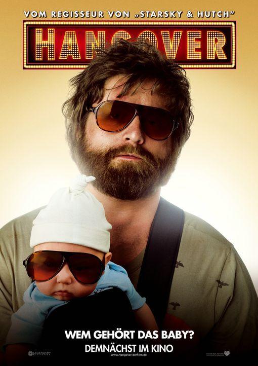 Wem gehört eigentlich dieses Baby? Alan (Zach Galifianakis) ... - Bildquelle: Warner Brothers