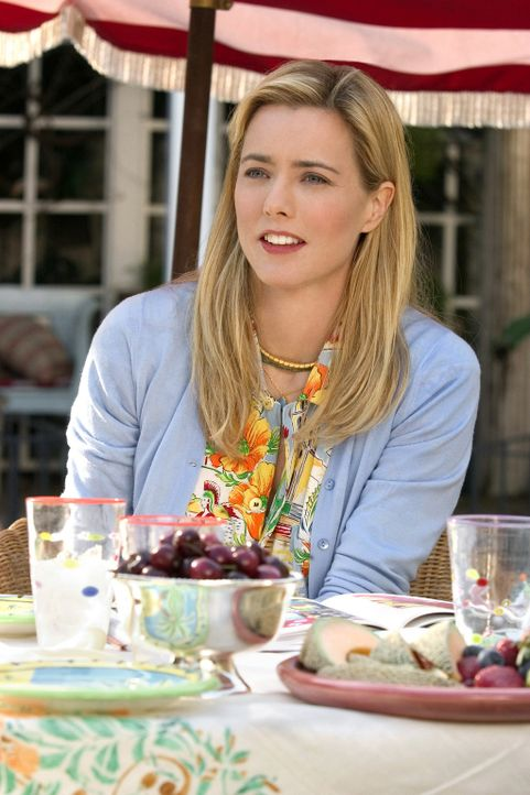 Sprachbarrieren sorgen für Missverständnisse: Deborah (Tea Leoni) ... - Bildquelle: Sony Pictures Television International. All Rights Reserved