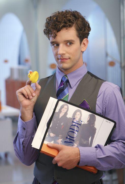 Findet Bettys Schreibtisch Dekoration albern: Marc (Michael Urie) ... - Bildquelle: Buena Vista International Television