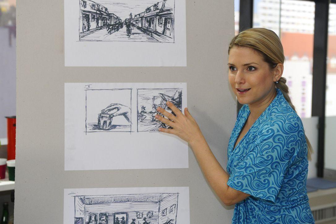 Wird Anna (Jeanette Biedermann) auf Davids Vorschlag eingehen? - Bildquelle: SAT.1