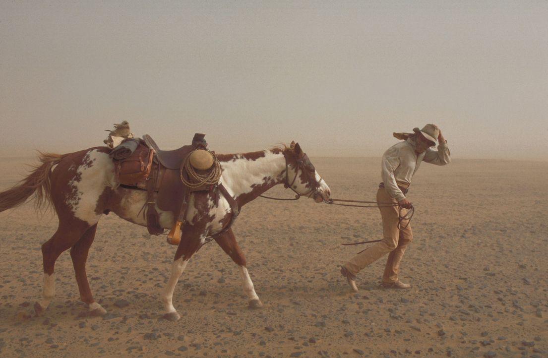 Muss mit Sandstürmen, Heuschrecken, Leoparden und hemmungslosen Konkurrenten und vor allem mit den Dämonen seiner Vergangenheit kämpfen: der berühmt... - Bildquelle: Walt Disney Pictures. All rights reserved