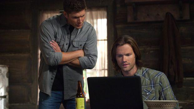 Noch ahnen Dean (Jensen Ackles, l.) und Sam (Jared Padalecki, r.) nicht, wen...