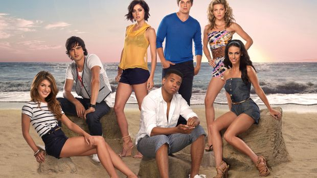 90210 - (3. Staffel) - Müssen sich mit normalen Teenagerproblemen herumschlag...