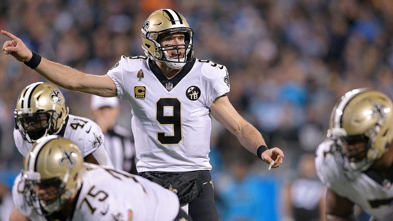 Platz 1: New Orleans Saints (12-2, Vorwoche: Platz 1) - Bildquelle: 2018 Getty Images