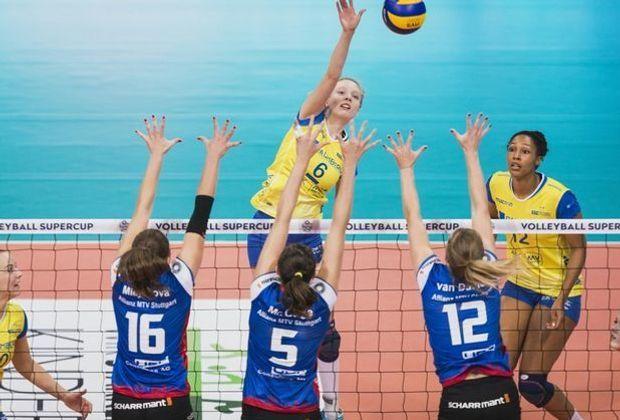Schwerin und Stuttgart verlieren im CEV-Pokal