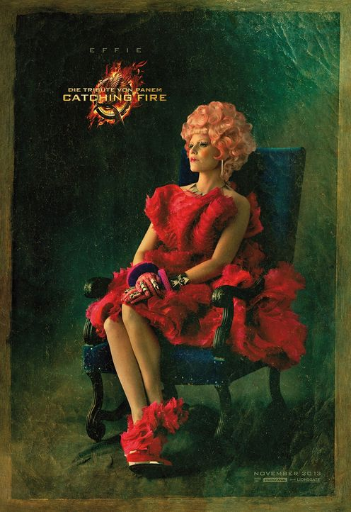 Elizabeth Banks als Effie Trinket in Catching Fire - Bildquelle: Studiocanal
