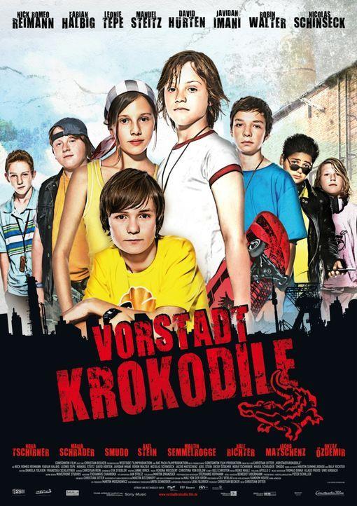Vorstadtkrokodile - Plakatmotiv - Bildquelle: 2010 Constantin Film Verleih