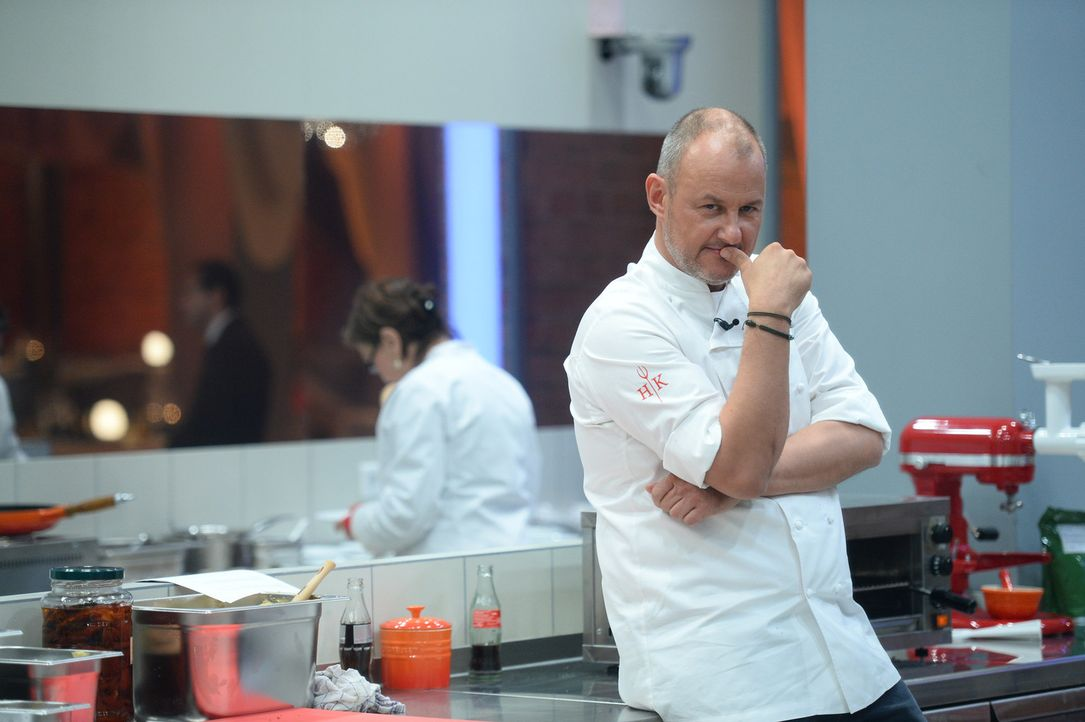 Der Hell's Kitchen Chef: Frank Rosin ... - Bildquelle: Willi Weber SAT.1