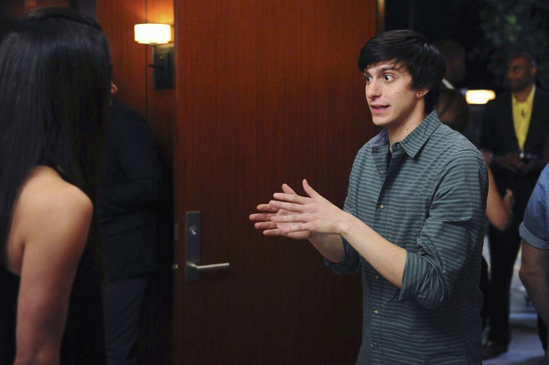 Dem labilen Ty (Gideon Glick) eine Standpauke zu halten, ist möglicherweise nicht die beste Idee, die Carmen je hatte ... - Bildquelle: 2014 ABC Studios