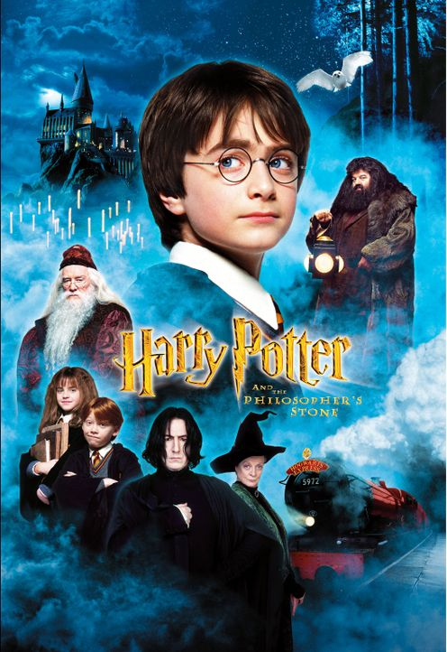 """""""HARRY POTTER UND DER STEIN DER WEISEN"""" - Plakatmotiv - Bildquelle: Warner Bros. Pictures"""